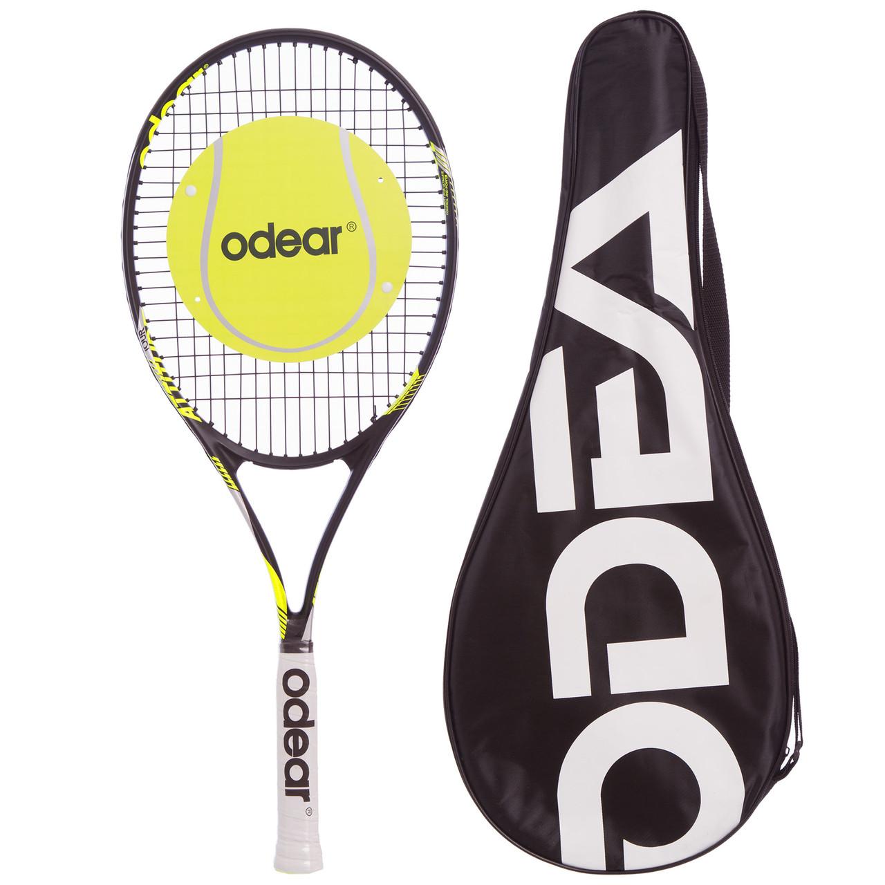 Ракетка для большого тенниса ODEAR ATTITUDE (алюминий, цвета в ассортименте)