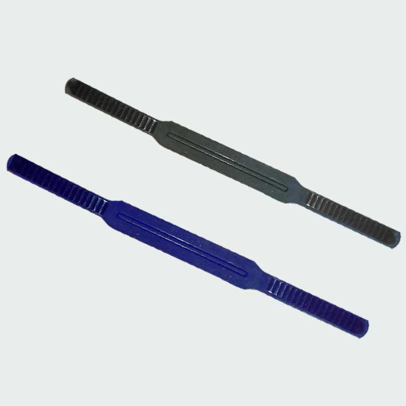 Ремешок 1шт для маски Акванавт PL-3791 и PL-4454 (резина, черный, синий)