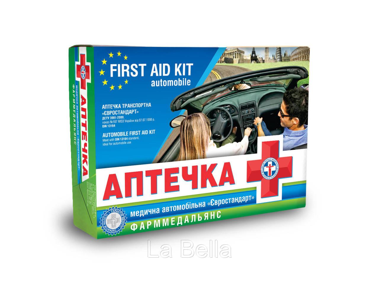 Медицинская автомобильная аптечка  Евростандарт