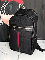 Брендовый рюкзак Gucci M424 черный