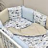 Бортики в детскую кроватку Baby Design Премиум City, фото 5