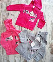 Детская кофта 1-4 года для девочек Турция оптом