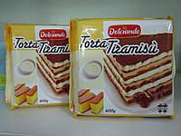 Десерт со вкусом Тирамису Torta Tiramisu Dolciando 400 г