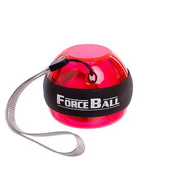 Power Ball тренажер для кистей рук без стартера Forse Ball (металл, пластик, d-7см)