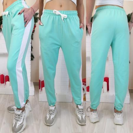 Женские штаны брюки с лампасами