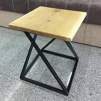 Кофейный столик в стиле лофт