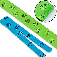 Кинезио тейп преднарезанный (Kinesio tape) эластичный пластырь (тип V-15см, тип I-58,5см)