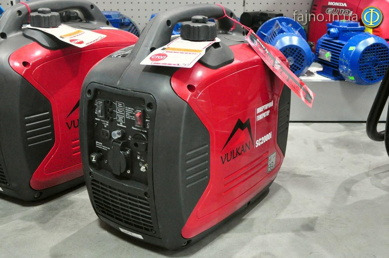 Генератор инверторный Vulkan SC2000i (1,6 кВт, мотор Yamaha)
