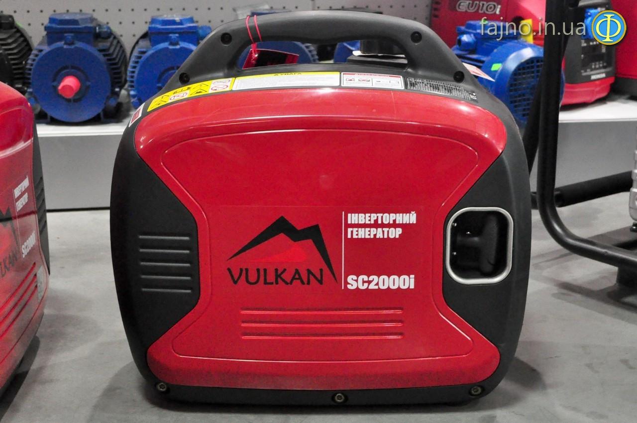Генератор инверторный Vulkan SC2000i