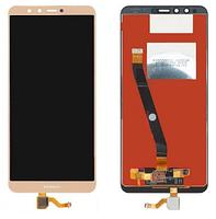 Дисплей (экран) для Huawei Y9 2018 FLA-AL20 з сенсором (тачскріном) золотистый, фото 2