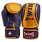Перчатки боксерские кожаные на липучке TWINS (р-р 10-16oz, цвета в ассортименте), фото 3