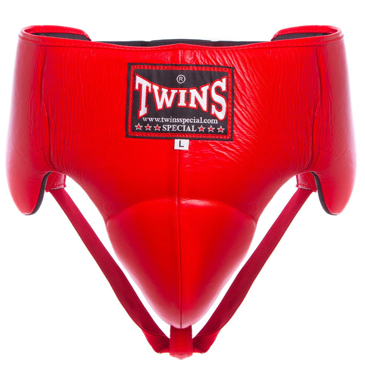 Защита для паха мужская с высоким поясом TWINS (кожа, напол.-плотная пена, р-р M-XL, цвета в ассортименте)