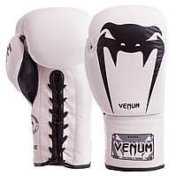 Перчатки боксерские кожаные на шнуровке VNM GIANT (р-р 10-14oz, цвета в ассортименте)