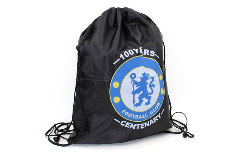 Рюкзак-мешок CHELSEA (PL, р-р 34х43см, черный)