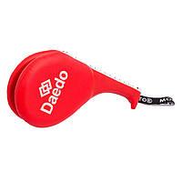 Ракетка для тхэквондо двойная WTF, MTO, DADO (PVC, наполнитель-пенополиуретан, цвета в ассортименте)