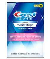 Отбеливающие полоски для чувствительных зубов Crest 3D WhiteWhitestrips Gentle Routine Treatments (2-3 тона)