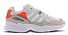 Жіночі Кросівки Adidas Yung 96 White Grey orange