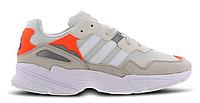 Жіночі Кросівки Adidas Yung 96 White Grey orange, фото 1