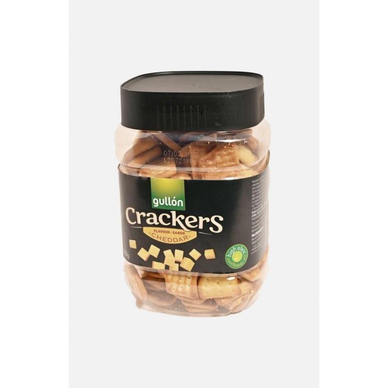 Печенье крекеры соленые с сыром Gullon Crackers Cheddar 250 г Испания