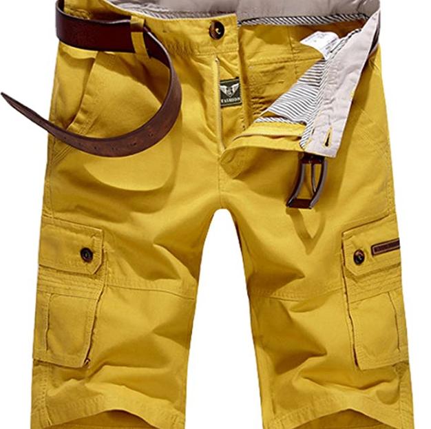 Мужские шорты POPOOL -  Yellow (W32)