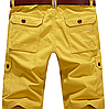 Мужские шорты POPOOL -  Yellow (W32), фото 2