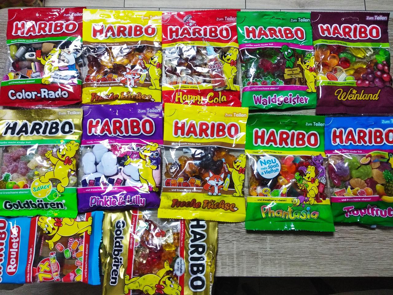 Желейні цукерки Haribo 200 гр.