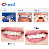 Отбеливающие полоски Crest Noticeably White Whitestrips Dental Whitening Kit (2-3 тона) 1шт.(пара), фото 3