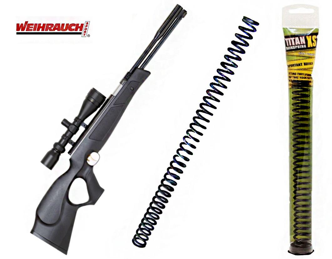Пружина для пневматической винтовки Weihrauch HW77  (усиленная)