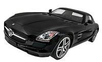 Машинка на радиоуправлении лицензионная Mercedes-Benz SLS AMG черная (машинки на пульте управления)