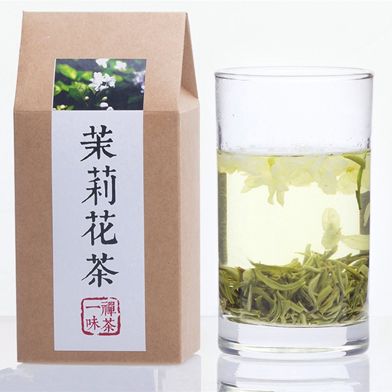 Зеленый чай с цветками жасмина 125 г