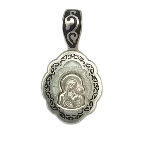 Серебряные кулоны с эмалью