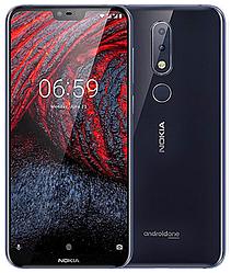 "Nokia 6.1 Plus 4/64 Gb blue, 5.8"", 4G"