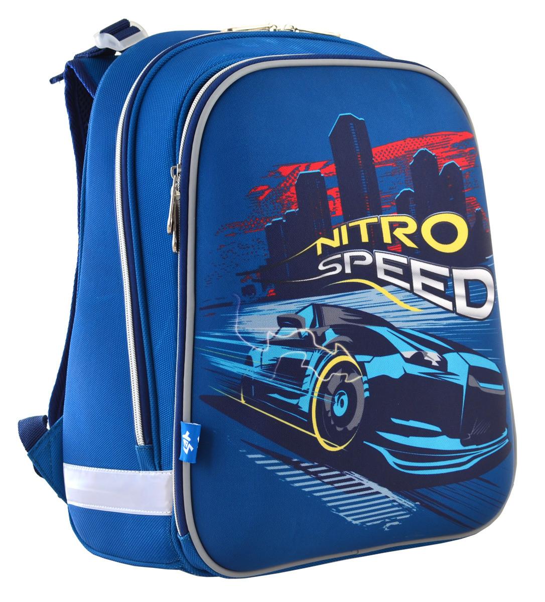 """Рюкзак школьный, каркасный H-12 """"Nitro Speed"""""""