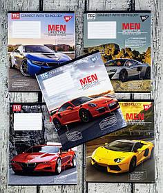 Тетрадь 36 листов линия Men lifestyle-2019 763787 27149Ф 1 вересня Украина