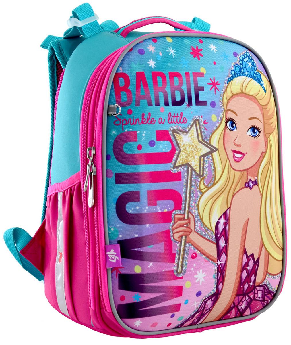 """Рюкзак школьный, каркасный H-25 """"Barbie"""""""
