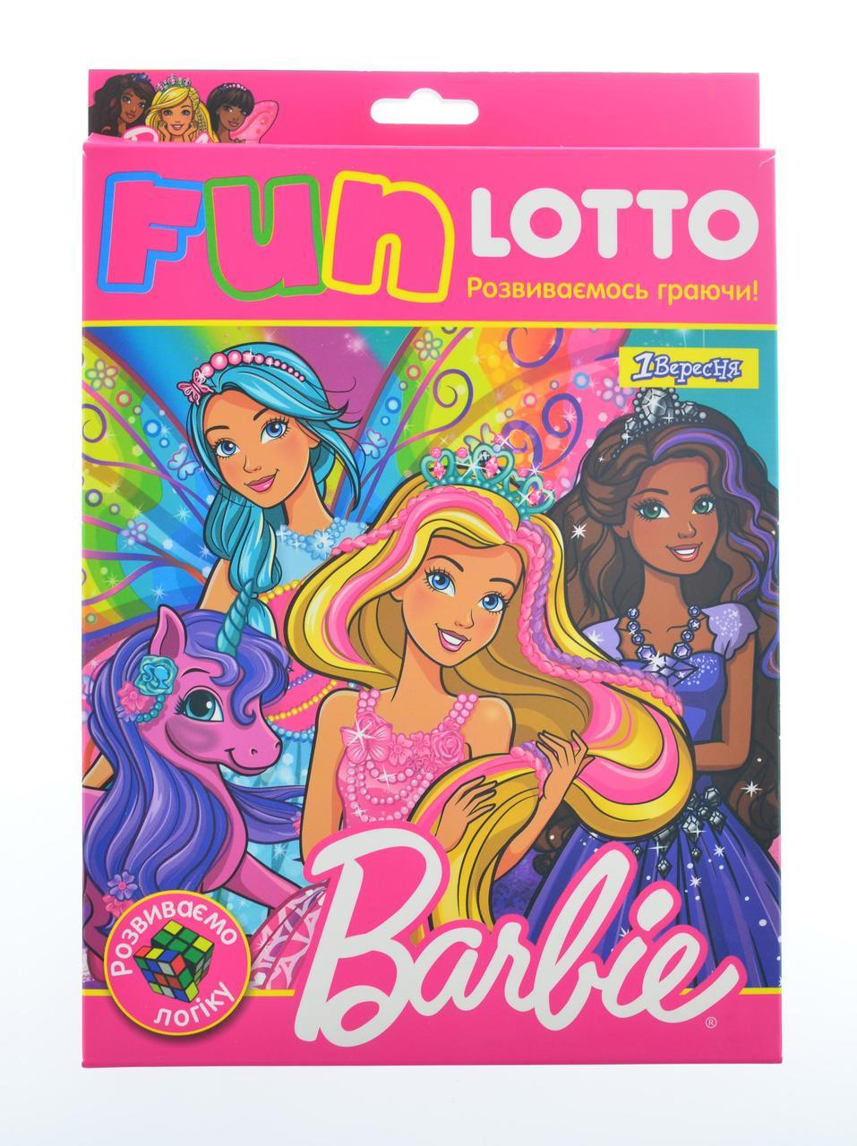 """Игровой набор Funny loto """"Barbie"""""""