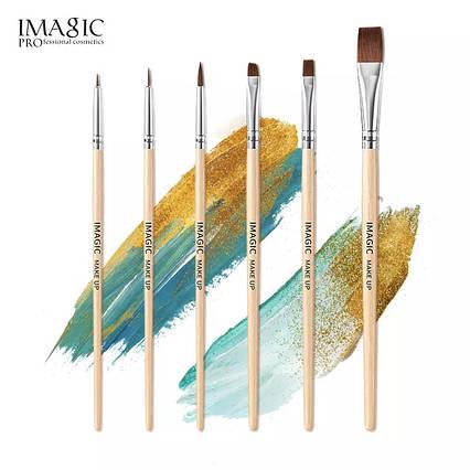 Набір Кистей Imagic для аквагриму, макіяжу