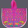 Дождевик-пончо YES со светоотражающим кантом «Яркие зонтики», фото 2