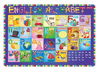 """Подложка для стола детская """"Алфавит (англ)"""""""