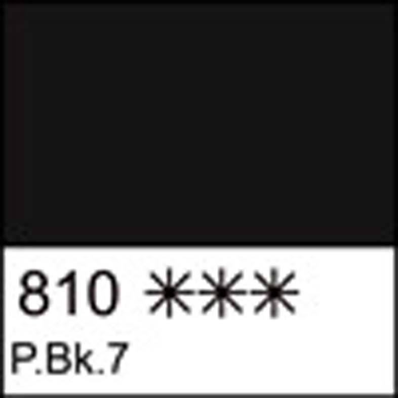 Краска гуашевая СОНЕТ черная, 100мл ЗХК