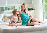 Односпальная надувная кровать Intex 64426 (99 x 191 x 46 см) Ultra Plush Airbed + Встроенный электронасос 220В, фото 2