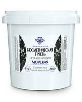 Косметическая грязь морская 5 кг черная иловая тм Naturalissimo