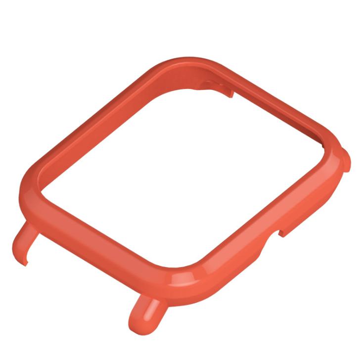 Пластиковый чехол MiJobs для Xiaomi AMAZFIT Bip Оранжевый
