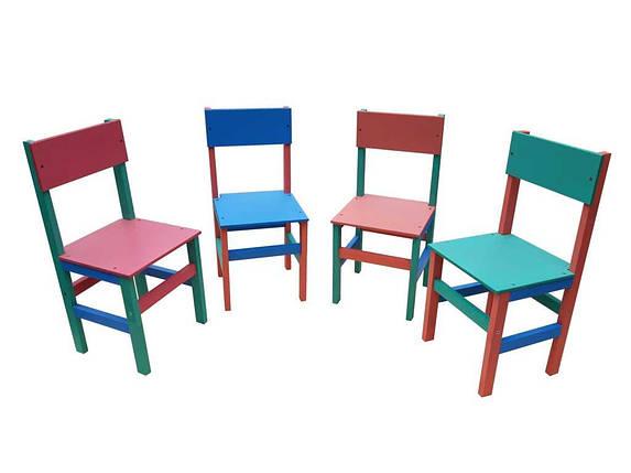 Стульчик детский разноцветный //, фото 2
