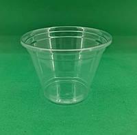 Стакан одноразовый для коктейлей, десертов прозрачный плотный (V=180мл), 50 шт/пач