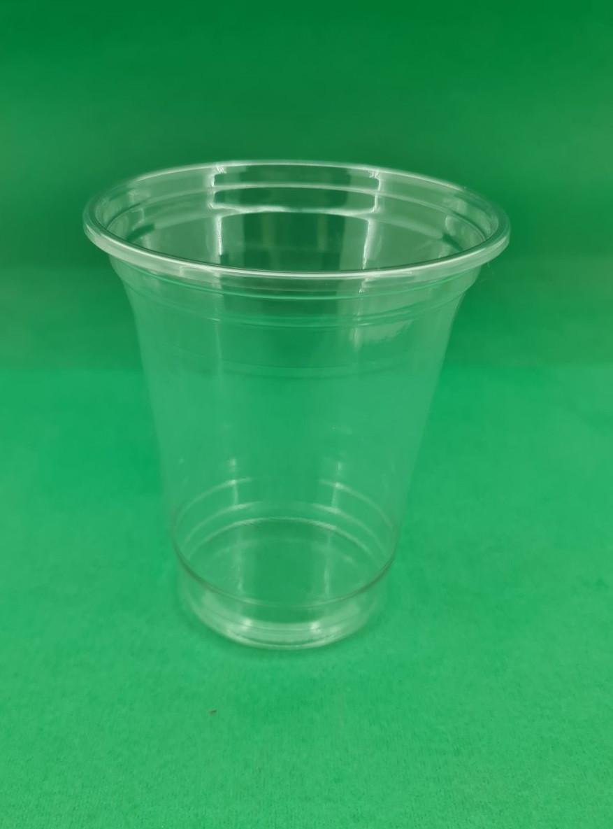 Стакан одноразовый для коктейлей, десертов прозрачный плотный (V=300мл), 50 шт/пач