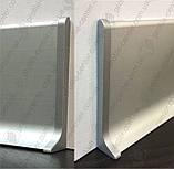 Заглушки металлические левая+правая для плинтуса Profilpas Metal Line 90/, фото 7