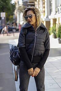 Демисезонная женская куртка рибана синтепон 150