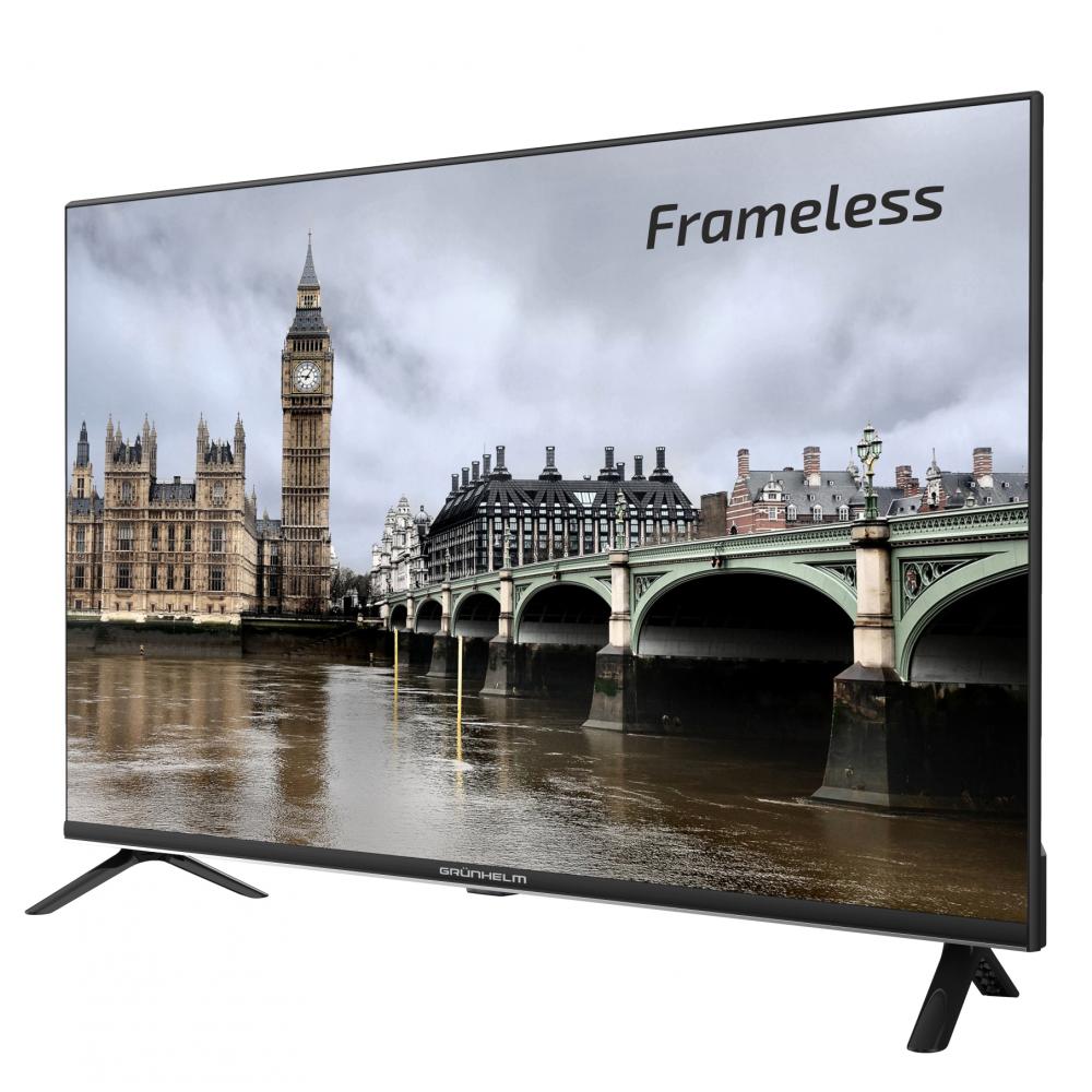 Smart телевизор Grunhelm GT9HDFL32 Frameless гарантия 2 года !