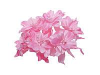 Декоративный букетик - Розовые Лилии, 5 см, 3 шт